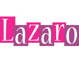 Lazaro whine logo