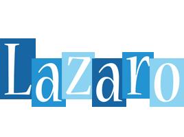 Lazaro winter logo