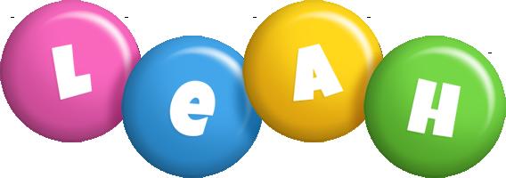 Leah candy logo