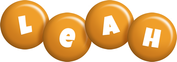 Leah candy-orange logo