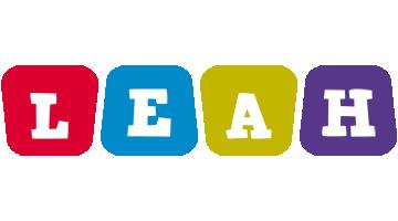 Leah daycare logo