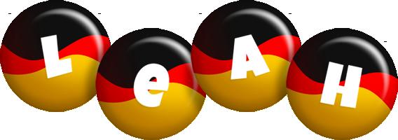 Leah german logo