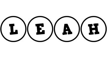 Leah handy logo