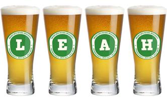 Leah lager logo