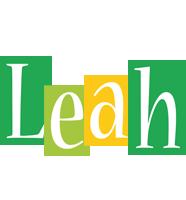 Leah lemonade logo