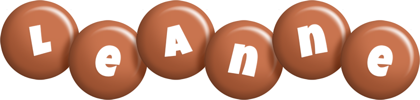 Leanne candy-brown logo