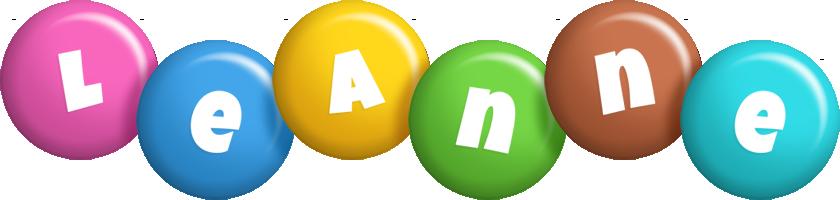 Leanne candy logo