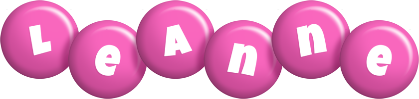 Leanne candy-pink logo
