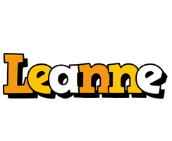 Leanne cartoon logo