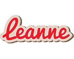 Leanne chocolate logo
