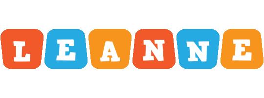 Leanne comics logo