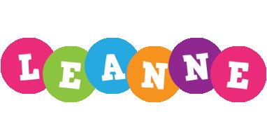 Leanne friends logo