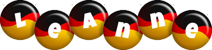 Leanne german logo