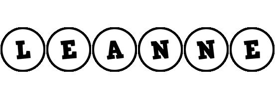 Leanne handy logo