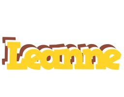 Leanne hotcup logo