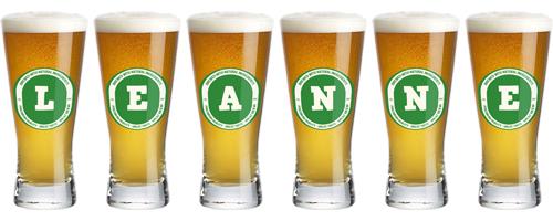 Leanne lager logo