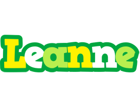 Leanne soccer logo