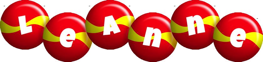 Leanne spain logo
