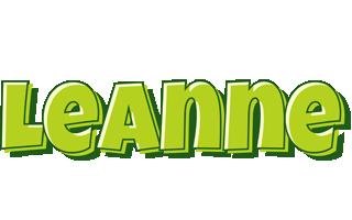 Leanne summer logo
