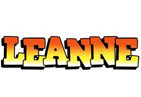 Leanne sunset logo