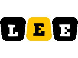 Lee boots logo