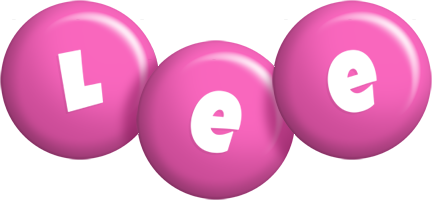 Lee candy-pink logo