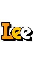 Lee cartoon logo