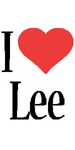Lee i-love logo