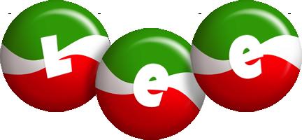 Lee italy logo