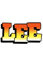 Lee sunset logo