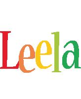 Leela birthday logo