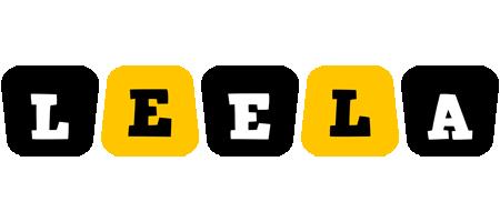 Leela boots logo