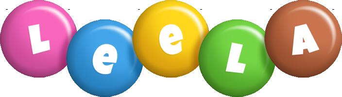 Leela candy logo