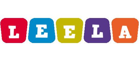 Leela daycare logo