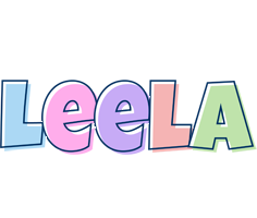 Leela pastel logo