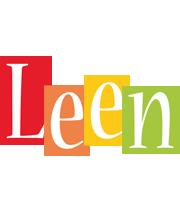 Leen colors logo