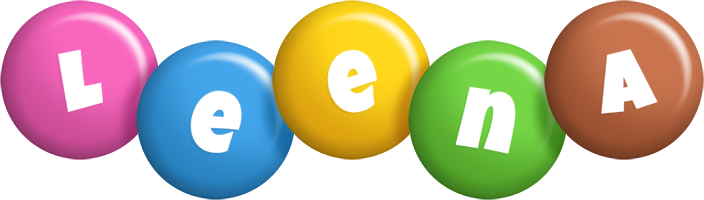Leena candy logo