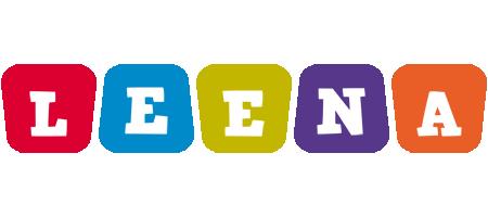 Leena daycare logo