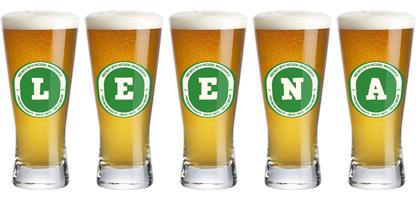 Leena lager logo