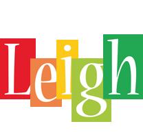 Leigh colors logo