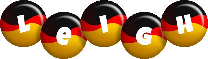 Leigh german logo