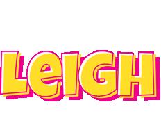 Leigh kaboom logo