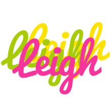 Leigh sweets logo