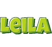 Leila summer logo