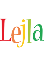 Lejla birthday logo