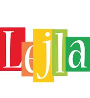 Lejla colors logo