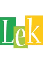 Lek lemonade logo