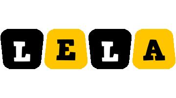 Lela boots logo
