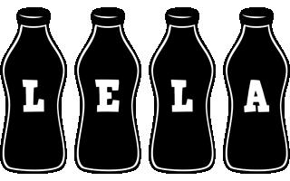 Lela bottle logo