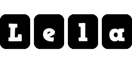 Lela box logo